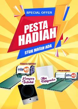 Promo Pemanas Air WIKA SWH