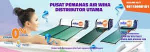 Pemanas Air WIKA Solar Water Heater