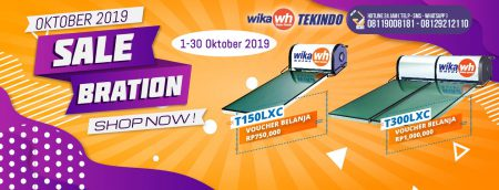Promo Pemanas Air WIKA Solar Water Heater